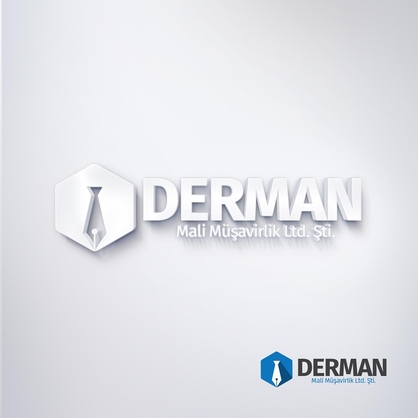 derman-mali-müsavirlik-logo-tasarimi